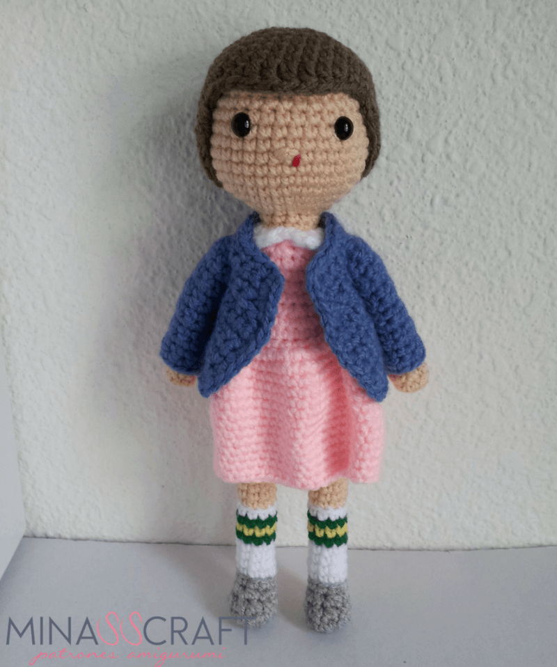 Eleven Stranger Things Amigurmi
