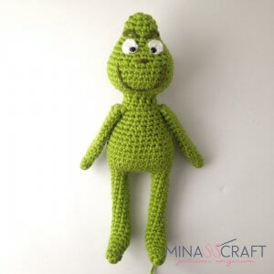 Grinch amigurumi tutorial - YouTube | 300x300