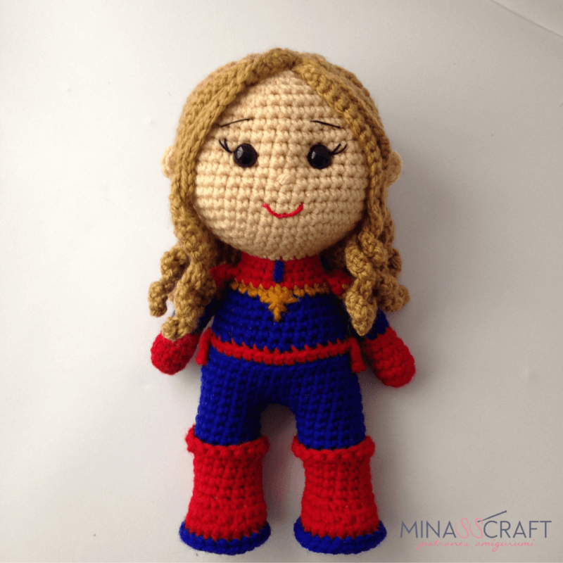Captain Marvel Amigurumi