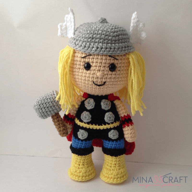 Earth's Mightiest Heroes: Free Crochet Avengers Patterns ... | 800x800