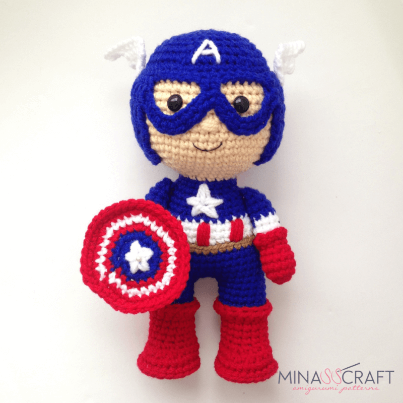 Ravelry: Chibi Joker From Batman pattern by Chelsea Thomas | 800x800