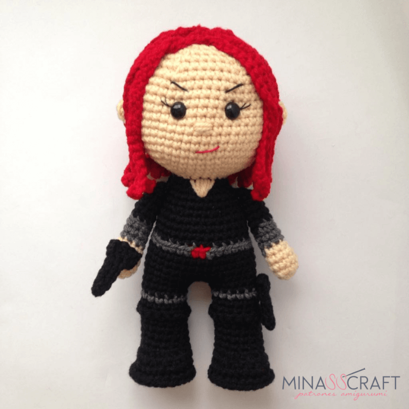 Black Widow Amigurumi