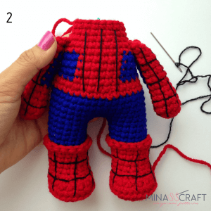 Spider amigurumi pattern - free cross stitch patterns crochet ... | 300x300