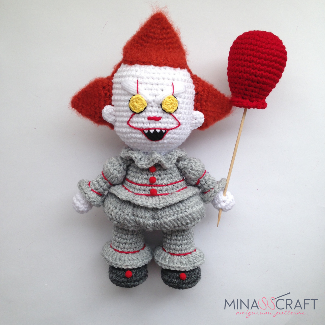 Pennywise The Clown Amigurumi