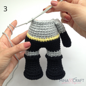 Batman Crochet amigurumi - YouTube | 300x300