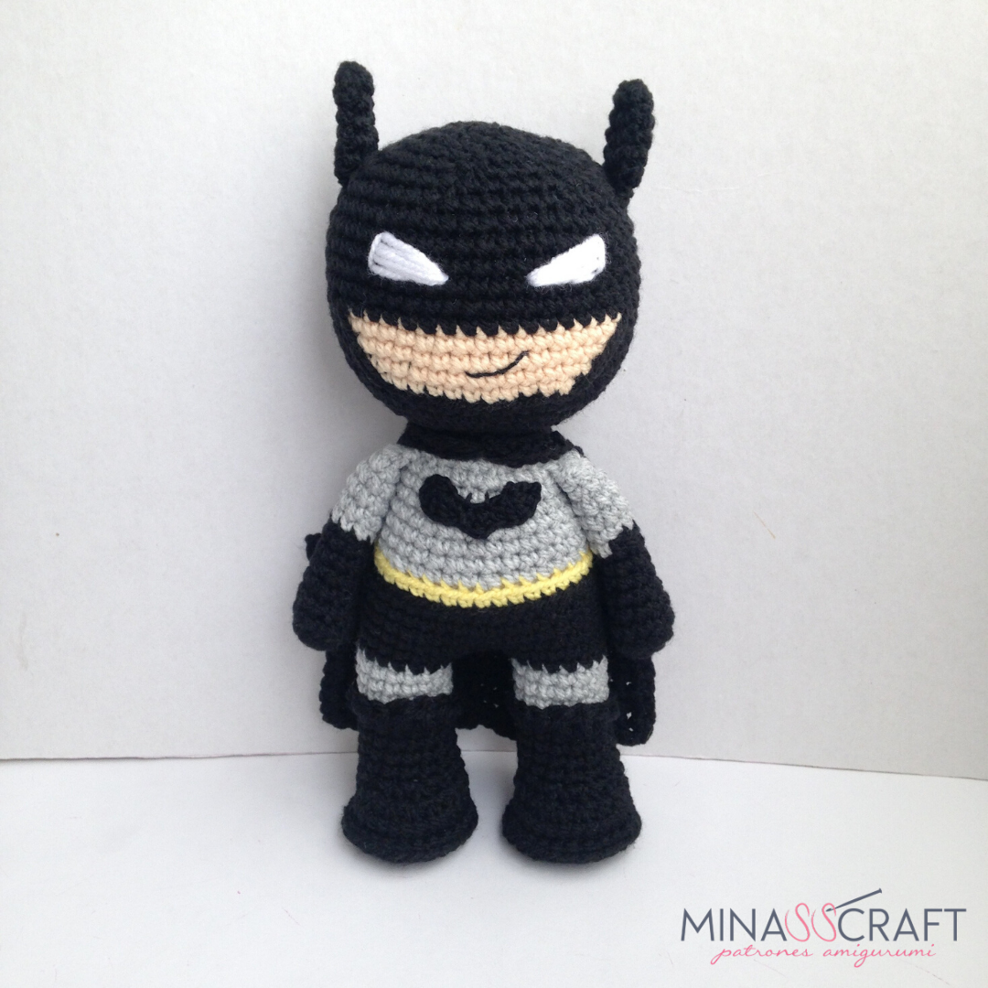 Mr. Batty, crochet bat pattern | Son's Popkes | 1080x1080