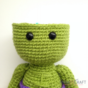 Amigurumi for Beginners Amigurumi Step by Step – Mini Hulk # Part ... | 300x300