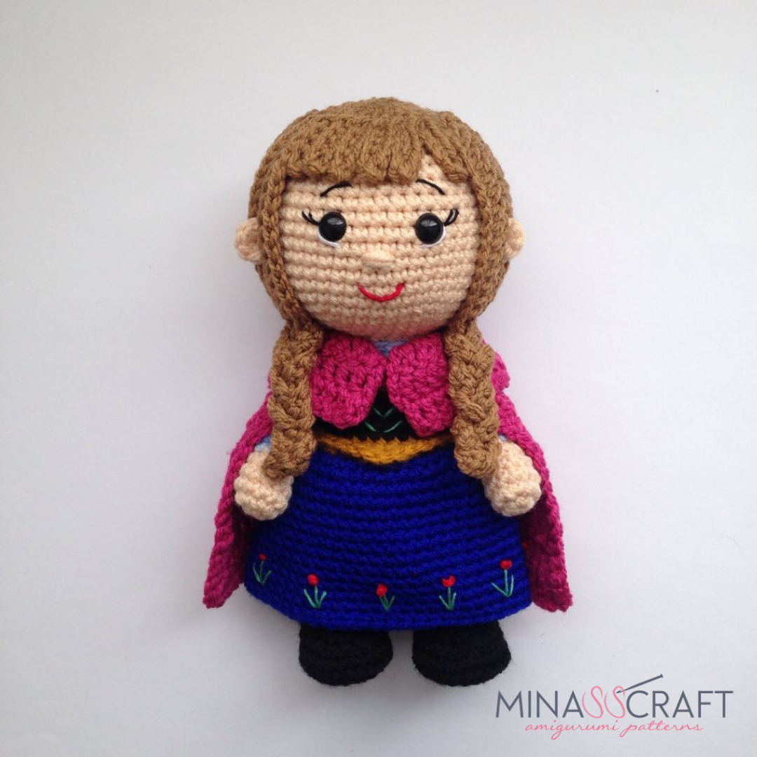 Short Haired Doll Amigurumi Projecy: British Wool | TOFT | 1080x1080