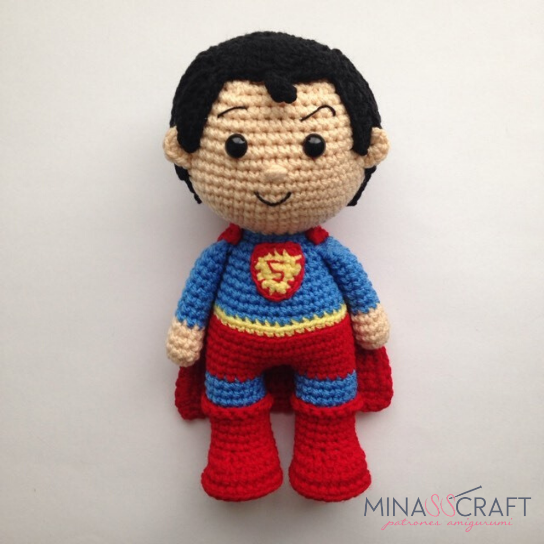 Capitana Marvel Amigurumi Paso a Paso - YouTube | 1080x1080