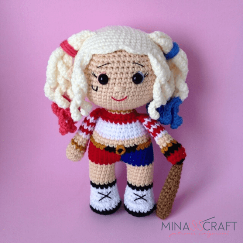 Ravelry: Captain Marvel Doll pattern by Nada Crochet | 800x800